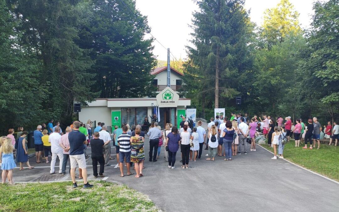 1. center ohranjanja narave v Sloveniji je odprl svoja vrata