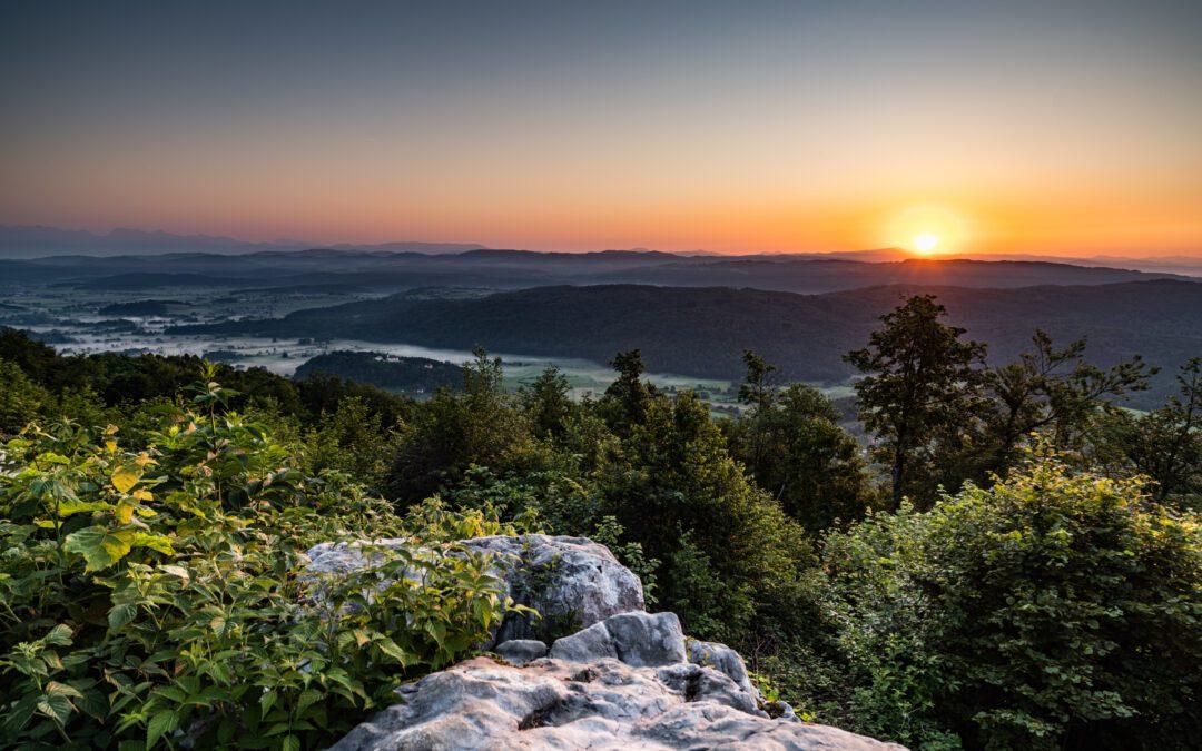 ODPOVED brezplačnega vodenja na Ostri vrh